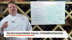 The Five French Mother Sauces