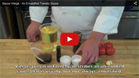 How to Make Sauce Vierge
