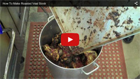 How to Make Roasted Veal Stock