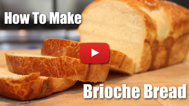 How to Make a Classic Loaf of Brioche Bread