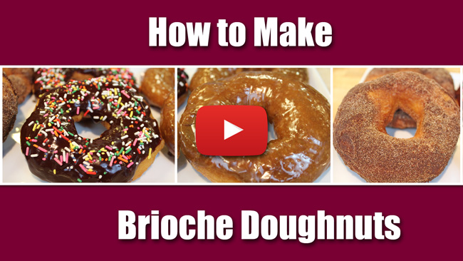 How to Make Yeasted Brioche Doughnuts