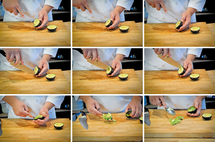 how to properly cut an avocado