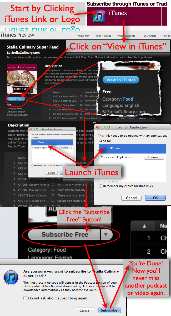 How to Subscribe to a Podcast Feed Using iTunes