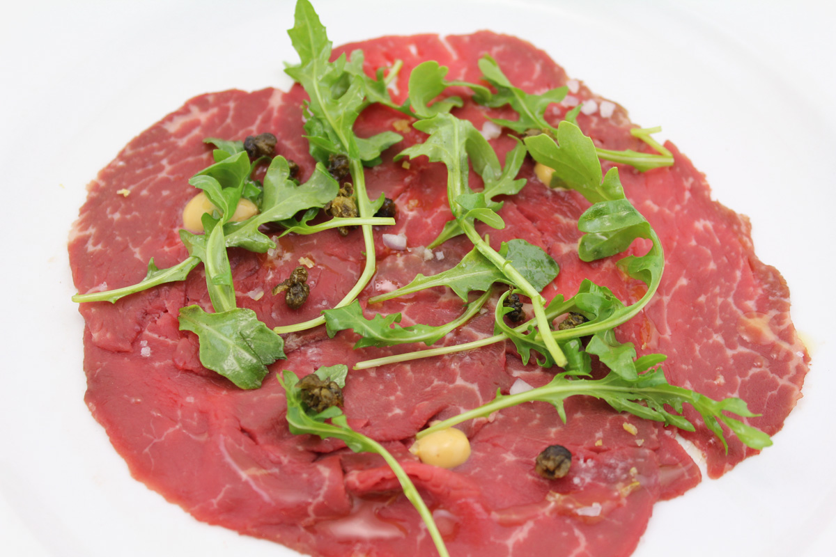 Beef Carpaccio Recipe — Dishmaps