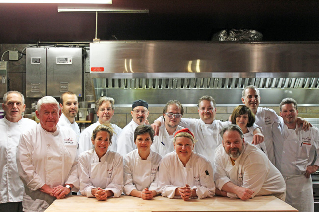 Stella's Culinary Boot Camp - Class Photo - November, 2012