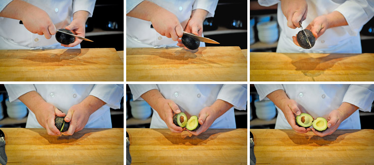 How to Pit, Slice and Dice an Avocado - Step One