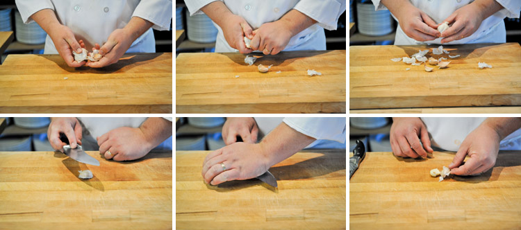 How to Peel and Mince Garlic like a Professional Chef - Step One