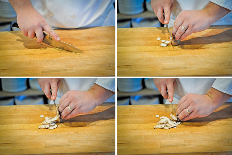 How to Slice Button Mushrooms like a Professional Chef