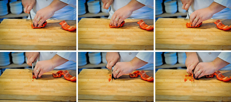 How to Cut a Bell Pepper - Step Three