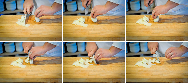 How to Julienne an Onion - Step Three