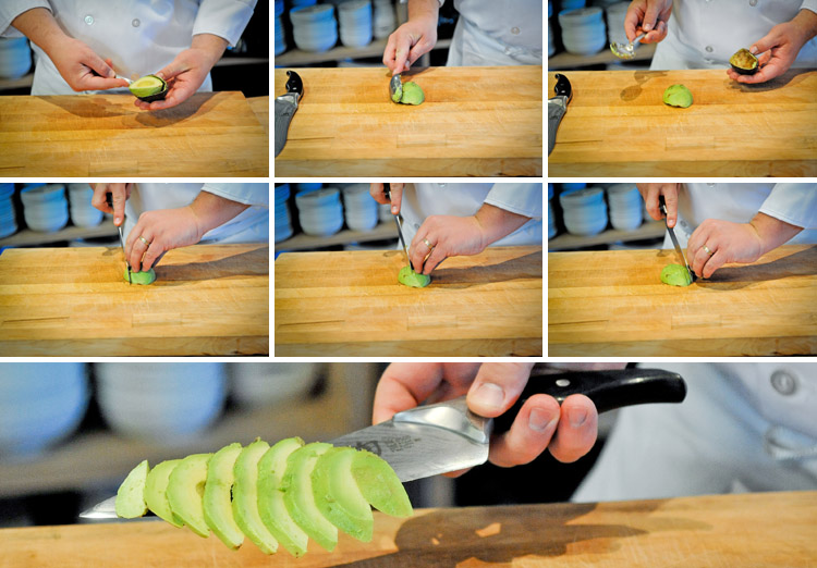 How to Pit, Slice and Dice an Avocado - Step Four
