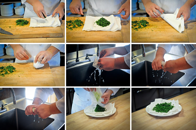 How to Mince Parsley - Step Four