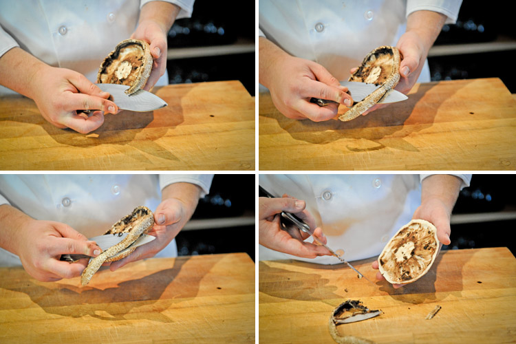How to Clean and Cut a Portobello Mushroom - Step Four