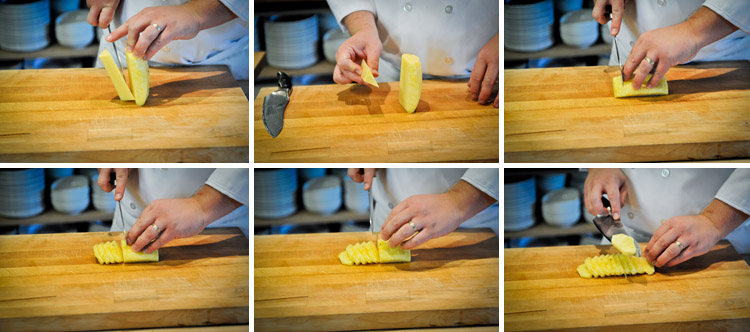 How to Peel and Slice a Pineapple - Step Five