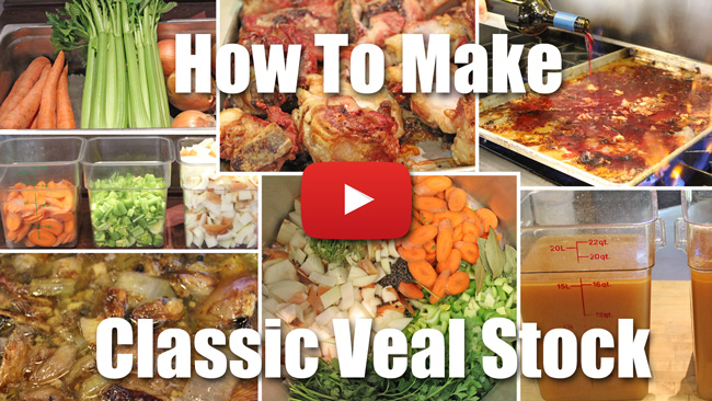 How to Make Classic Veal Stock Video