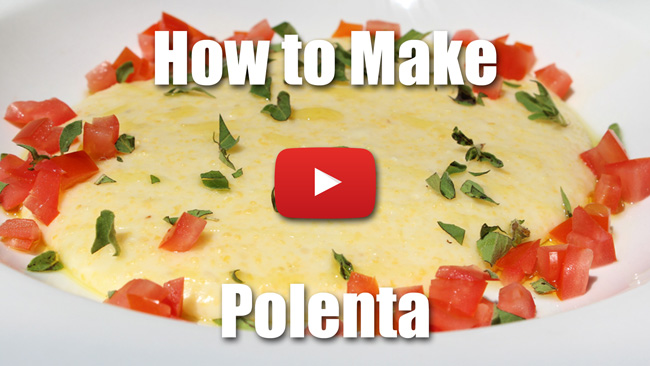 How to Make Creamy Polenta - Video