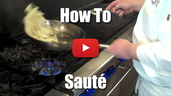 How to Saute