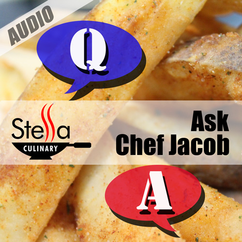 Ask Chef Jacob Podcast