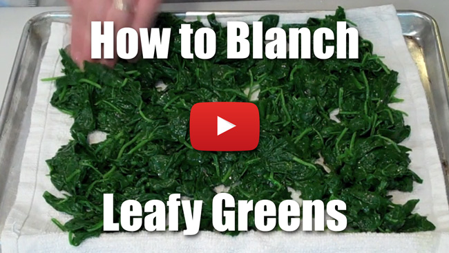 Kp 003 How To Blanch Leafy Greens Stella Culinary