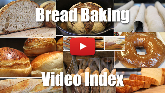 Bread Baking Video Index