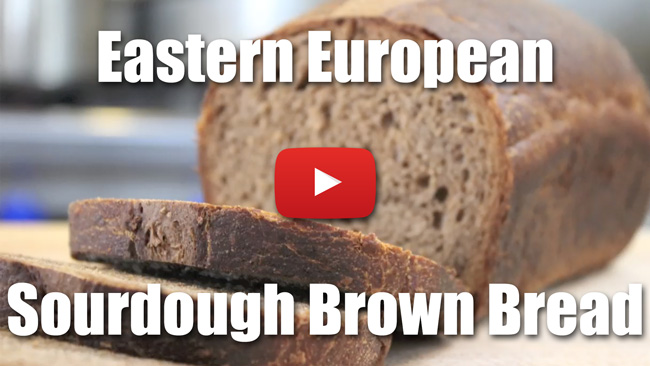 How to Make Eastern European Style Sourdough Brown Bread