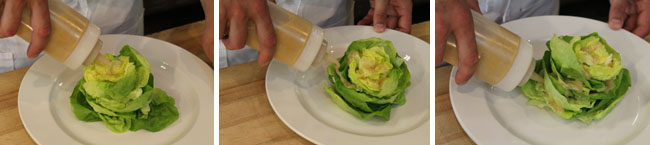 Butter Lettuce Salad Step Two