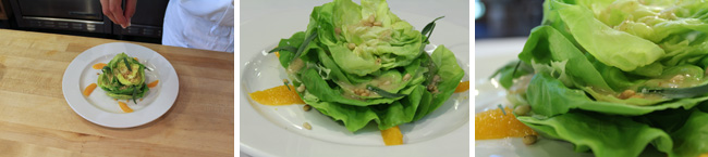 Butter Lettuce Salad Step Five