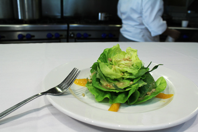 Composed Butter Lettuce Salad