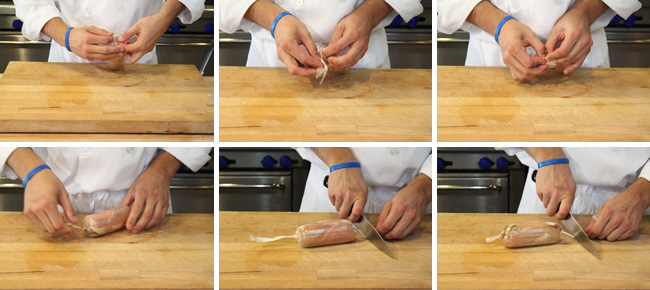 How to Make a Stuffed Chicken Breast Roulade - Step Six