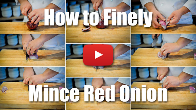 CKS 008| How to Finely Mince a Red Onion