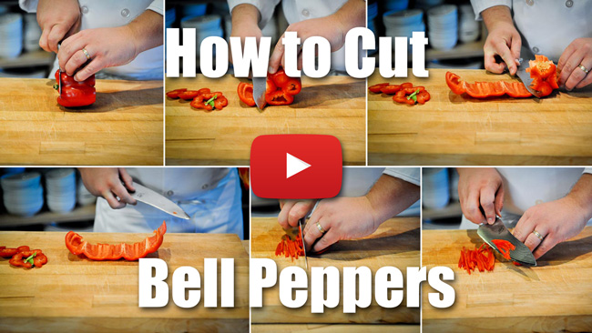 CKS 012| How to Julienne and Dice Bell Peppers