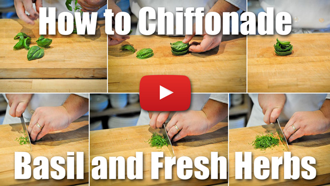 CKS 011| How to Chiffonade Basil and Other Herbs