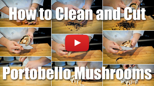 CKS 013| How to Clean and Slice a Portobello Mushroom