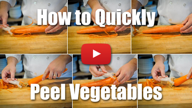 CKS 017| How to Quickly Peel Vegetables