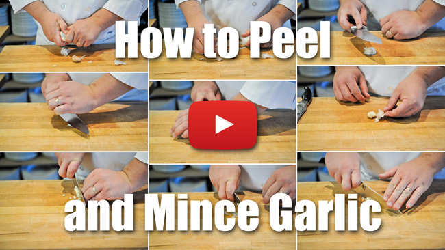 CKS 018| How to Peel and Mince Garlic