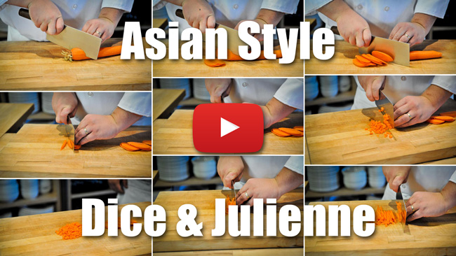 CKS 024| Asian Style Dice and Julienne