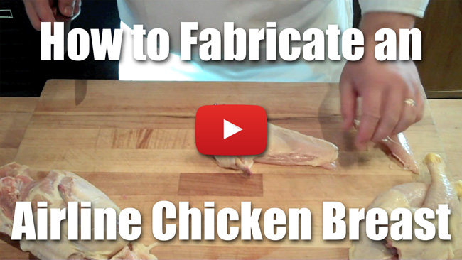 CKS 028| How to Fabricate an Airline Chicken Breast