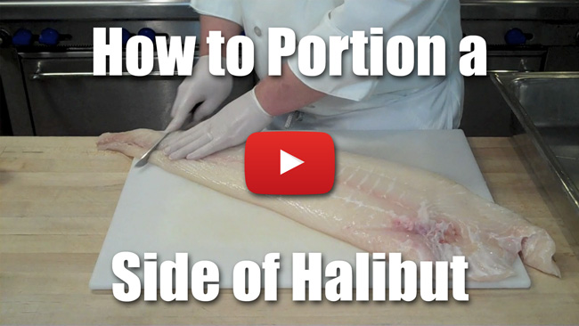 CKS 038| How to Portion a Side of Halibut