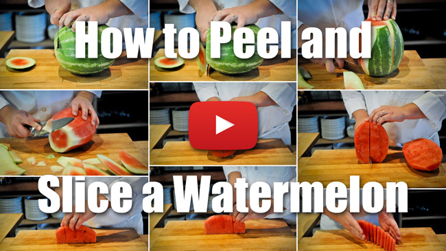 CKS 039| How to Pell and Slice a Watermelon