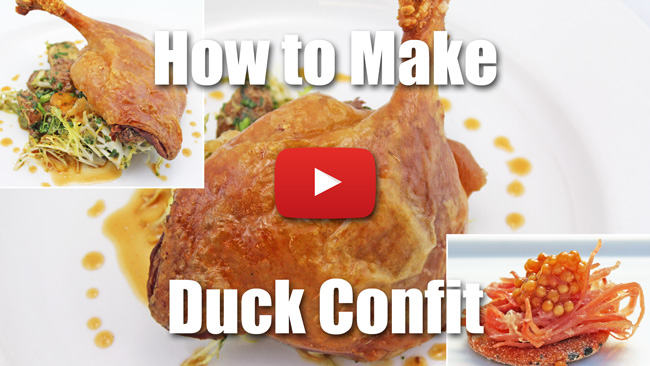 How to Make Duck Confit - Video