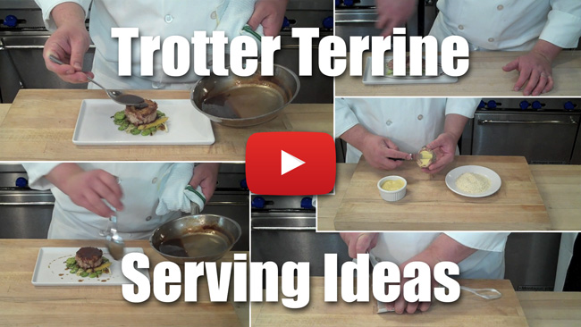 Trotter Terrine Part Two - How to Serve