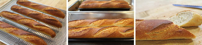 How to Make a French Baguette Loaf of Bread - Video