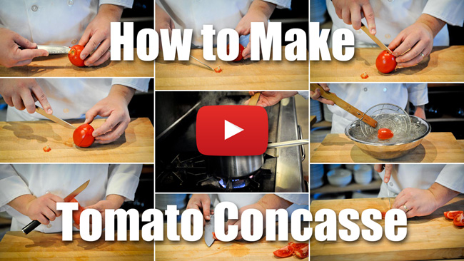 How to Make Tomato Concasse - Video