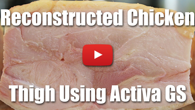 KP 31| Reconstructed Chicken Thigh Using Activa GS - Video Technique