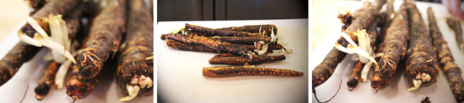 How to Prepare Salsify - Step One