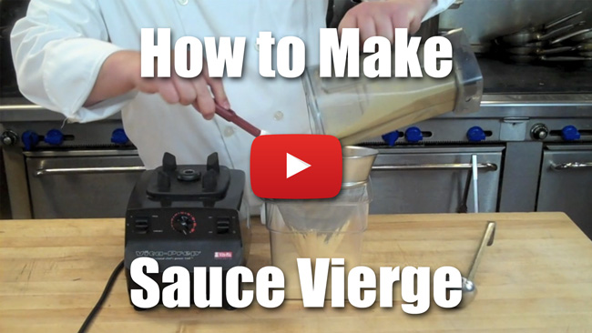 How to Make Sauce Vierge - Video