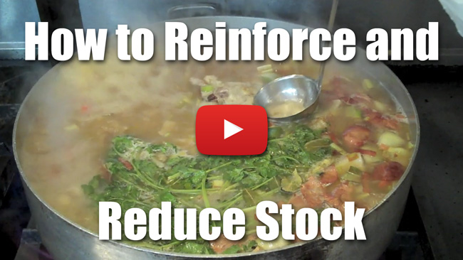 How to Reinforce and Reduce Stock - Video Technique