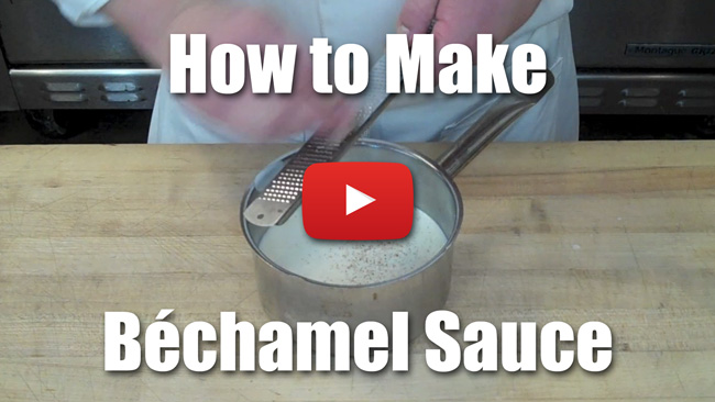 How to Make Culinary School Bechamel