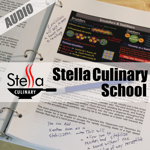 The Stella Culinary School Podcast