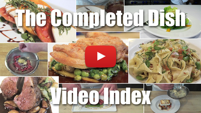 The Completed Dish Video Index